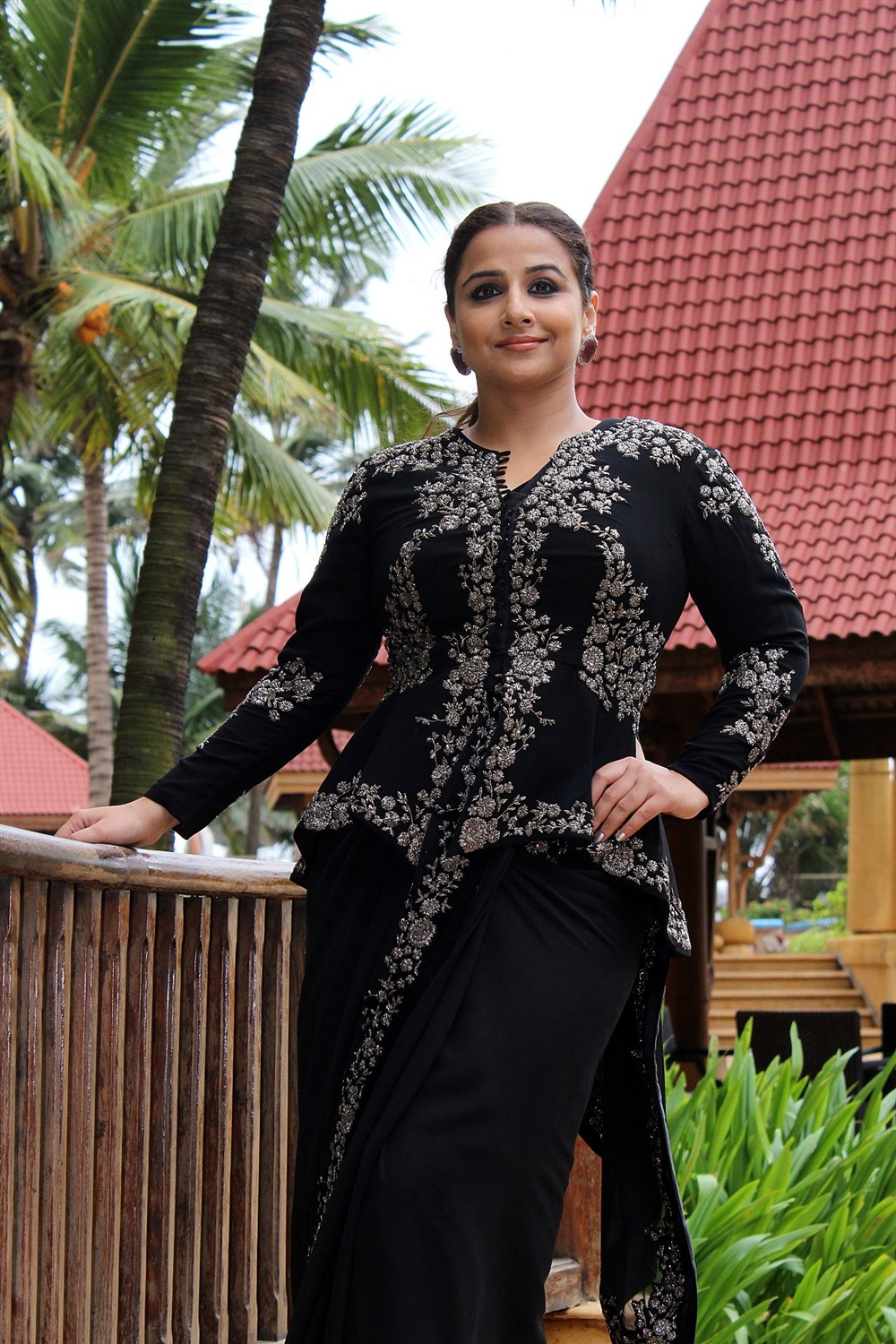 Actress Vidya Balan @ Mission Mangal Promotion in JW Marriot Photos