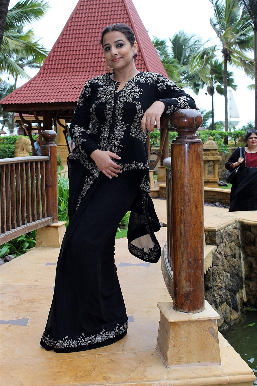 Actress Vidya Balan @ Mission Mangal Promotion in JW Marriot Photos