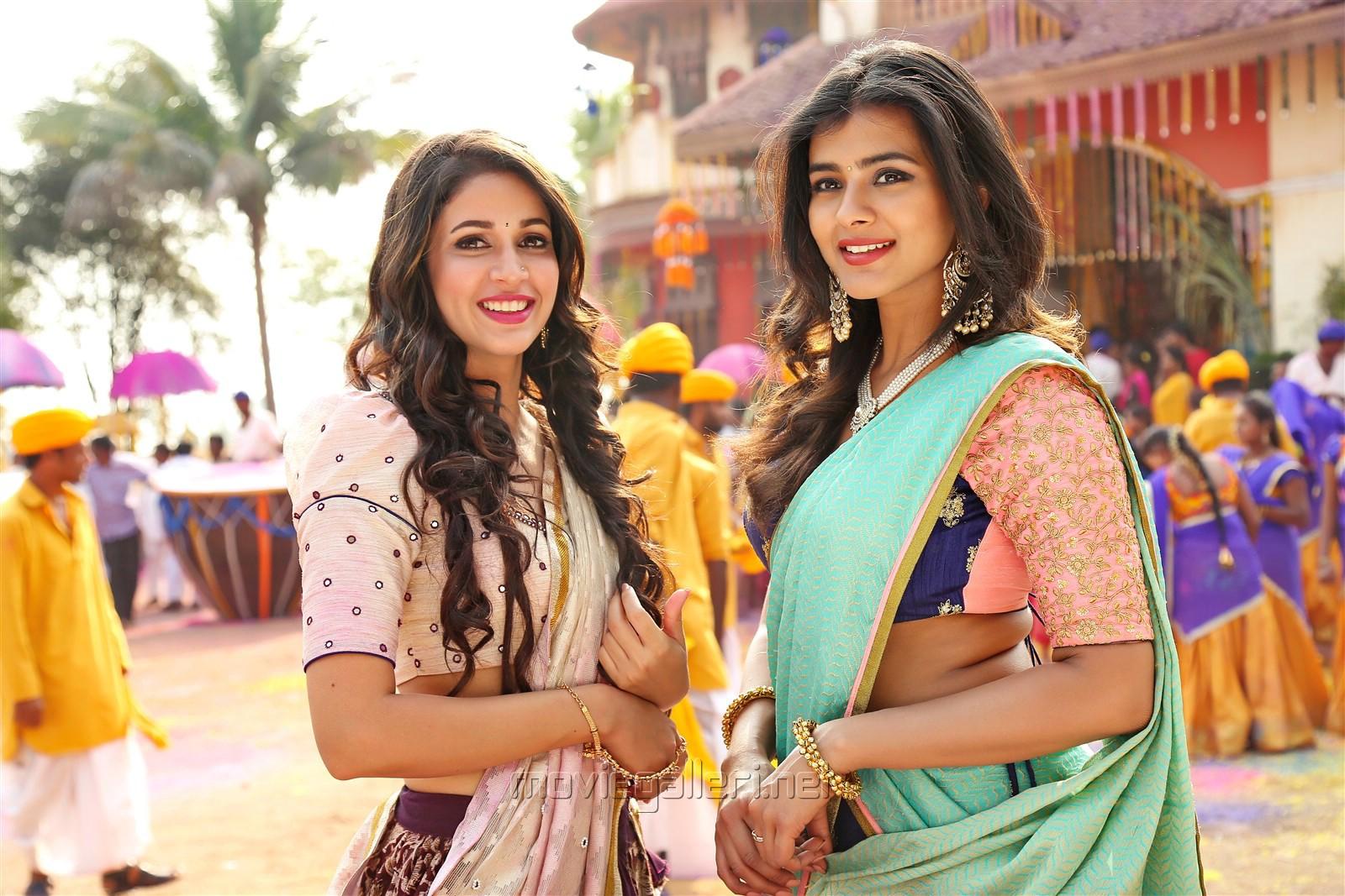 Actress Lavanya Tripathi, Hebah Patel in Mister Movie Photos