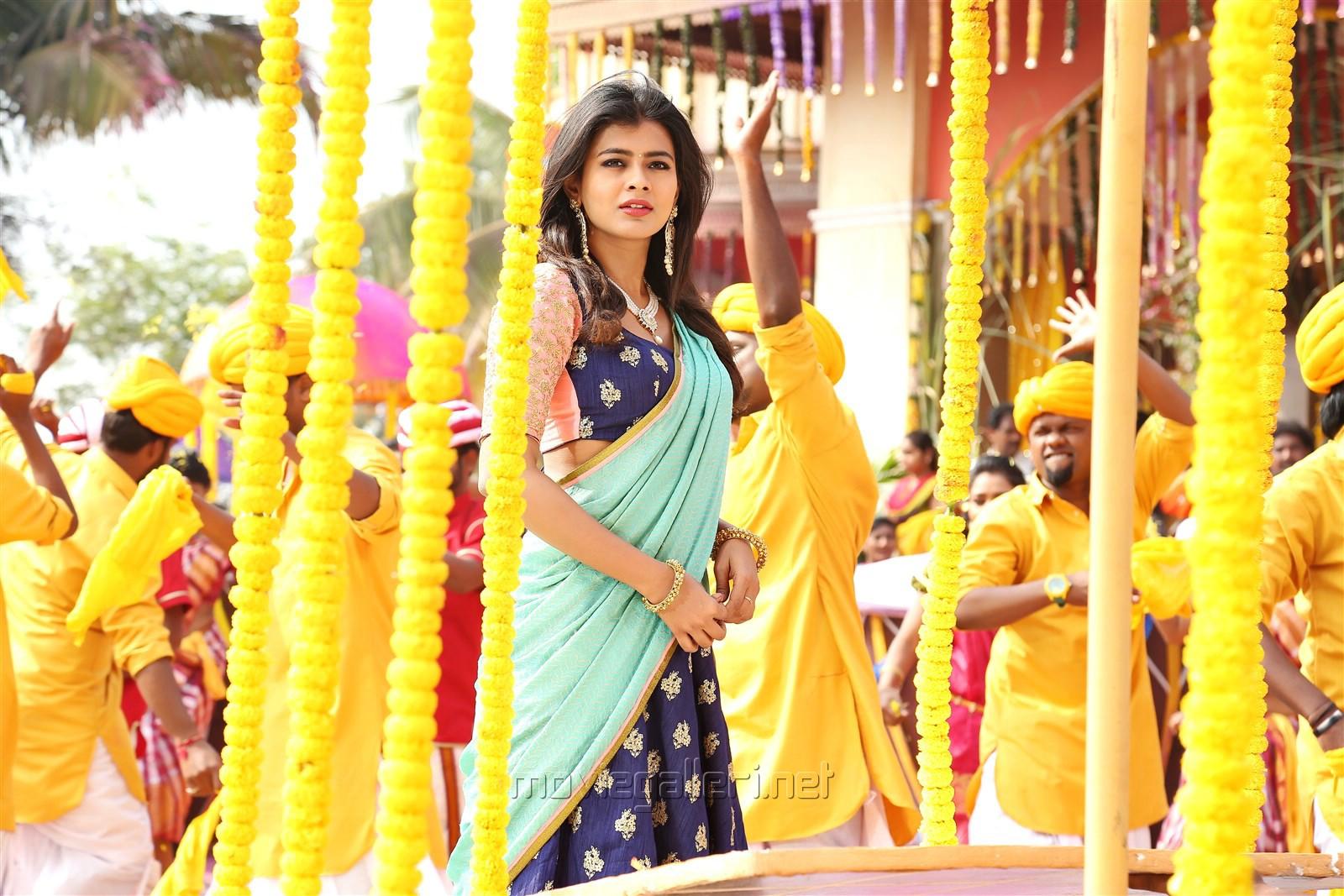 Heroine Hebah Patel in Mister Movie Photos