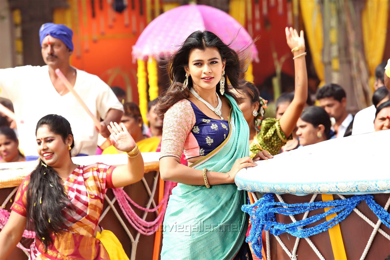 Actress Hebah Patel in Mister Movie Photos