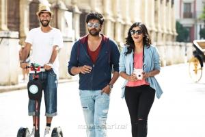 Varun Tej, Hebah Patel in Mister Movie Stills