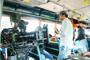 Srinu Vaitla @ Mister Movie Working Stills