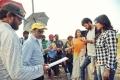 Srinu Vaitla, Lavanya Tripathi, Varun Tej, Hebah Patel @ Mister Movie Working Stills