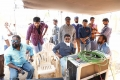 KV Guhan, Varun Tej, Tagore Madhu, Srinu Vaitla @ Mister Movie Working Stills