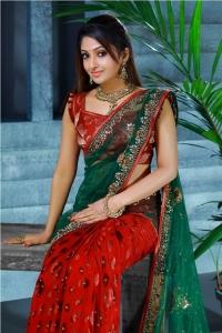 Beautiful Mithra Kurian in Saree Photo Shoot Stills