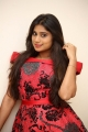 Actress Midhuna in Red Dress Pics