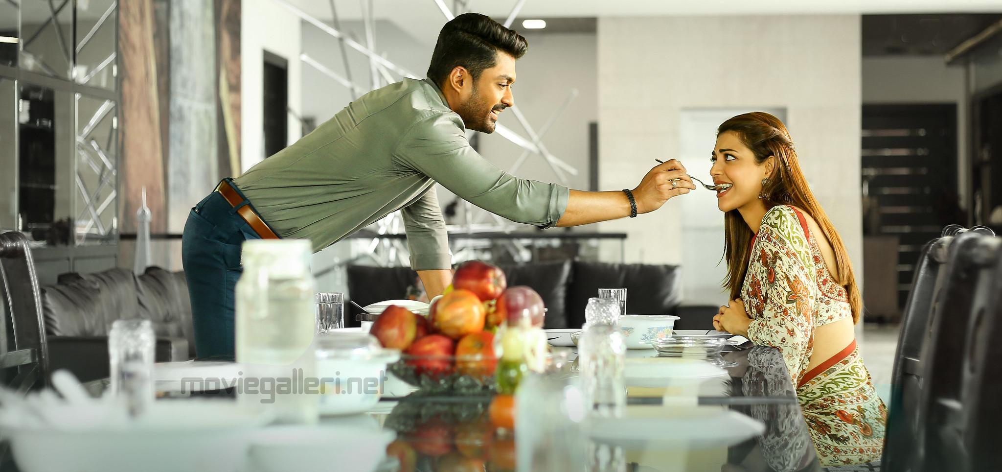 Nandamuri Kalyan Ram, Kajal Agarwal in MLA Movie Stills HD