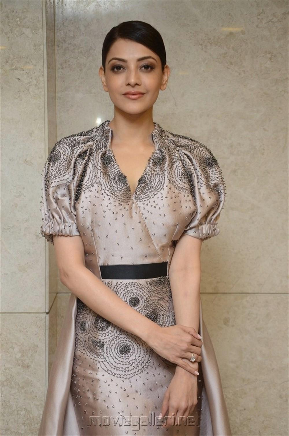 Actress Kajal Agarwal @ MLA Pre Release Function Stills
