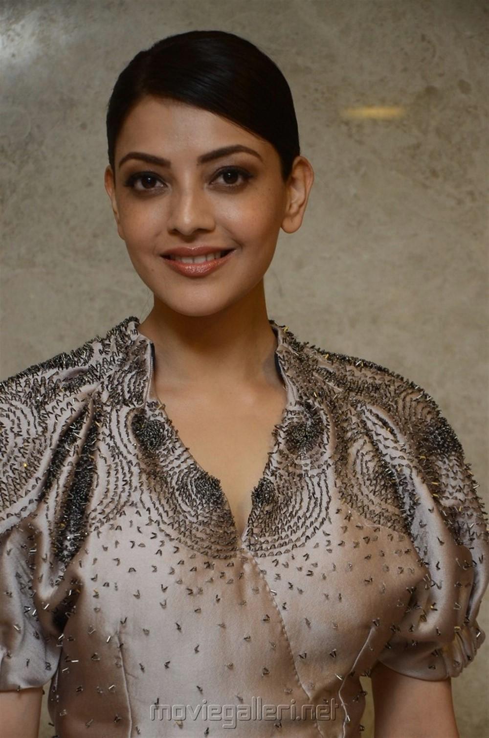 Actress Kajal Agarwal @ MLA Movie Pre Release Function Stills