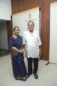 MN Rajam @ Maha Gurusamy MN Nambiar Centenary Tribute Function Stills