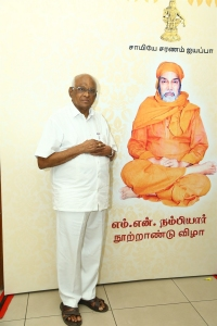 SP Muthuraman @ Maha Gurusamy MN Nambiar Centenary Tribute Function Stills