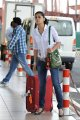 Actress Tapsee at Airport