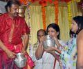 Mohan Babu Family Guru Purnima Special Pooja Photos