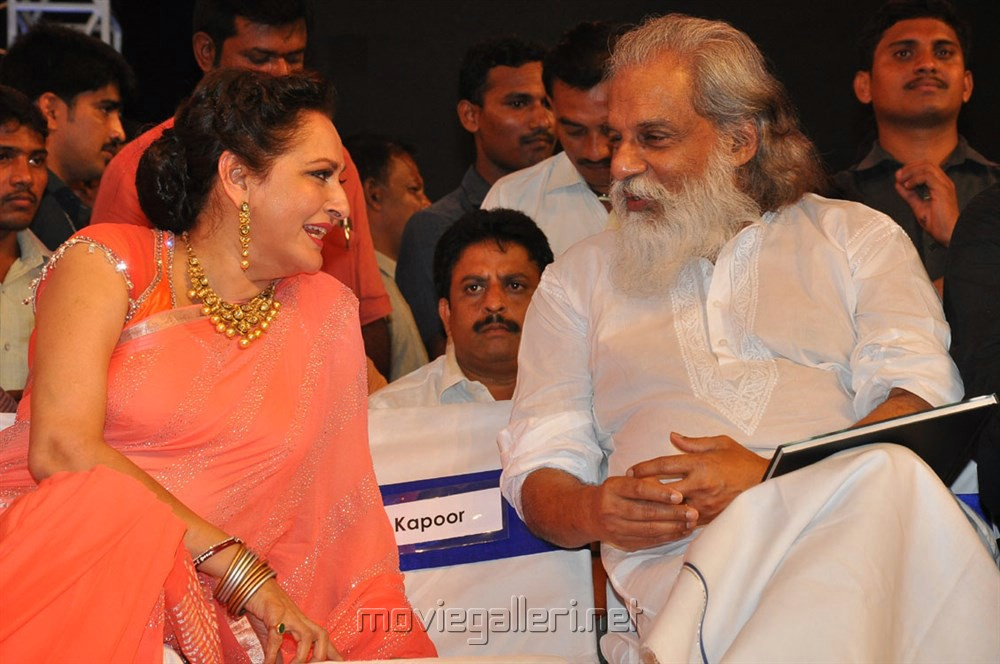 Jaya Prada, KJ Yesudas @ Mohan Babu MB 40 Years Celebrations Photos