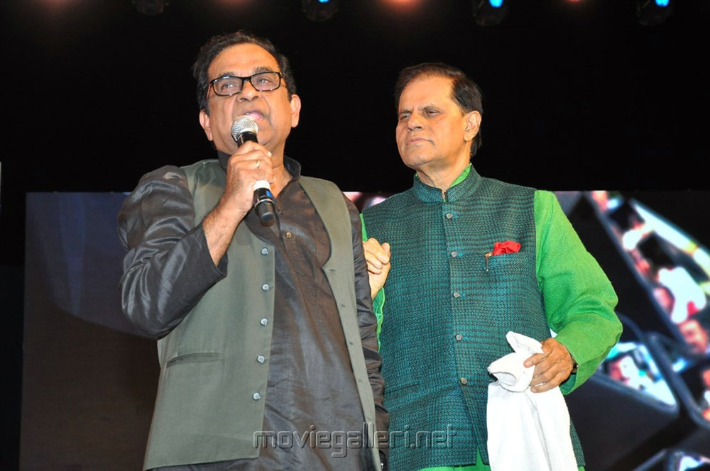 Brahmanandam, T Subbarami Reddy @ Mohan Babu MB 40 Years Celebrations Photos