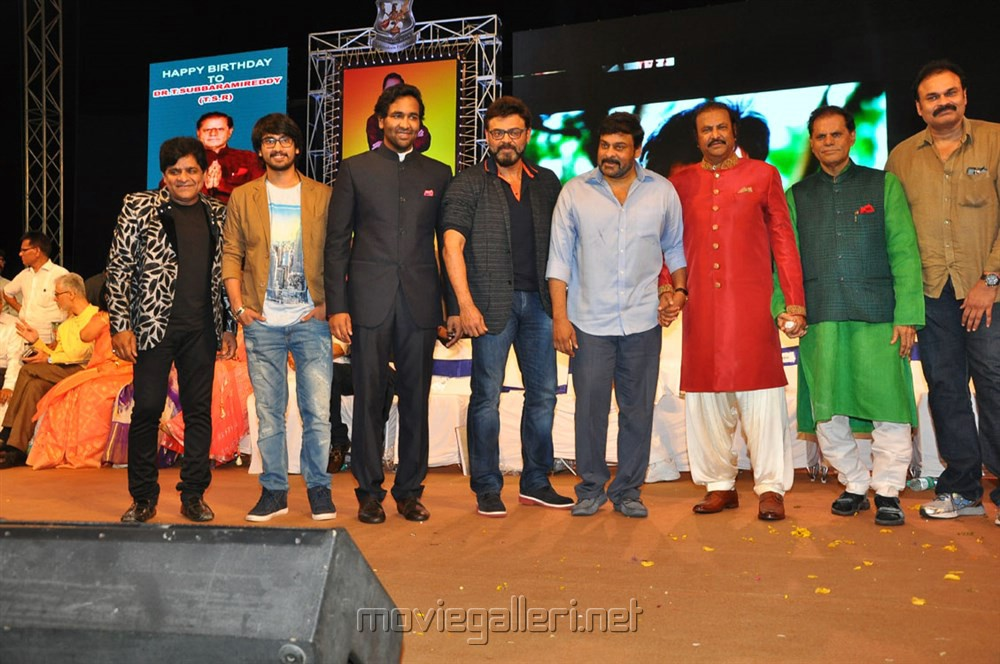 Actor Mohan Babu 40 Years Celebrations Photos