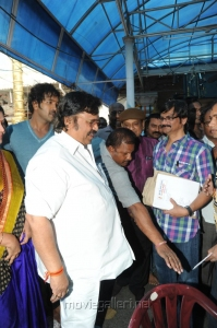 Dasari Narayana Rao, AVS at Mohan Babu New Movie Opening Photos