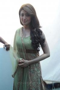 Actress Pranitha at Mohan Babu New Movie Opening Photos