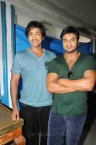 Manchu Vishnu, Manoj Kumar at Mohan Babu New Movie Opening Photos