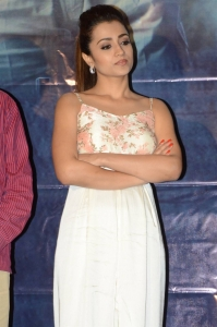 Actress Trisha Krishnan @ Mohini Movie Pre Release Event Stills