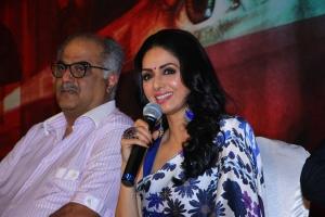 Boney Kapoor, Sridevi @ MOM Movie Press Meet Stills