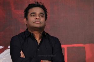 Music Director AR Rahman @ MOM Movie Press Meet Stills