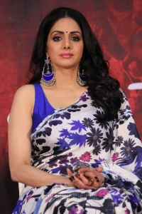 Actress Sridevi @ MOM Movie Press Meet Stills