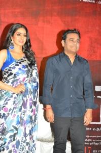 Sridevi, AR Rahman @ MOM Movie Press Meet Stills