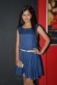 Actress Monal Gajjar in Short Blue Frock Photos