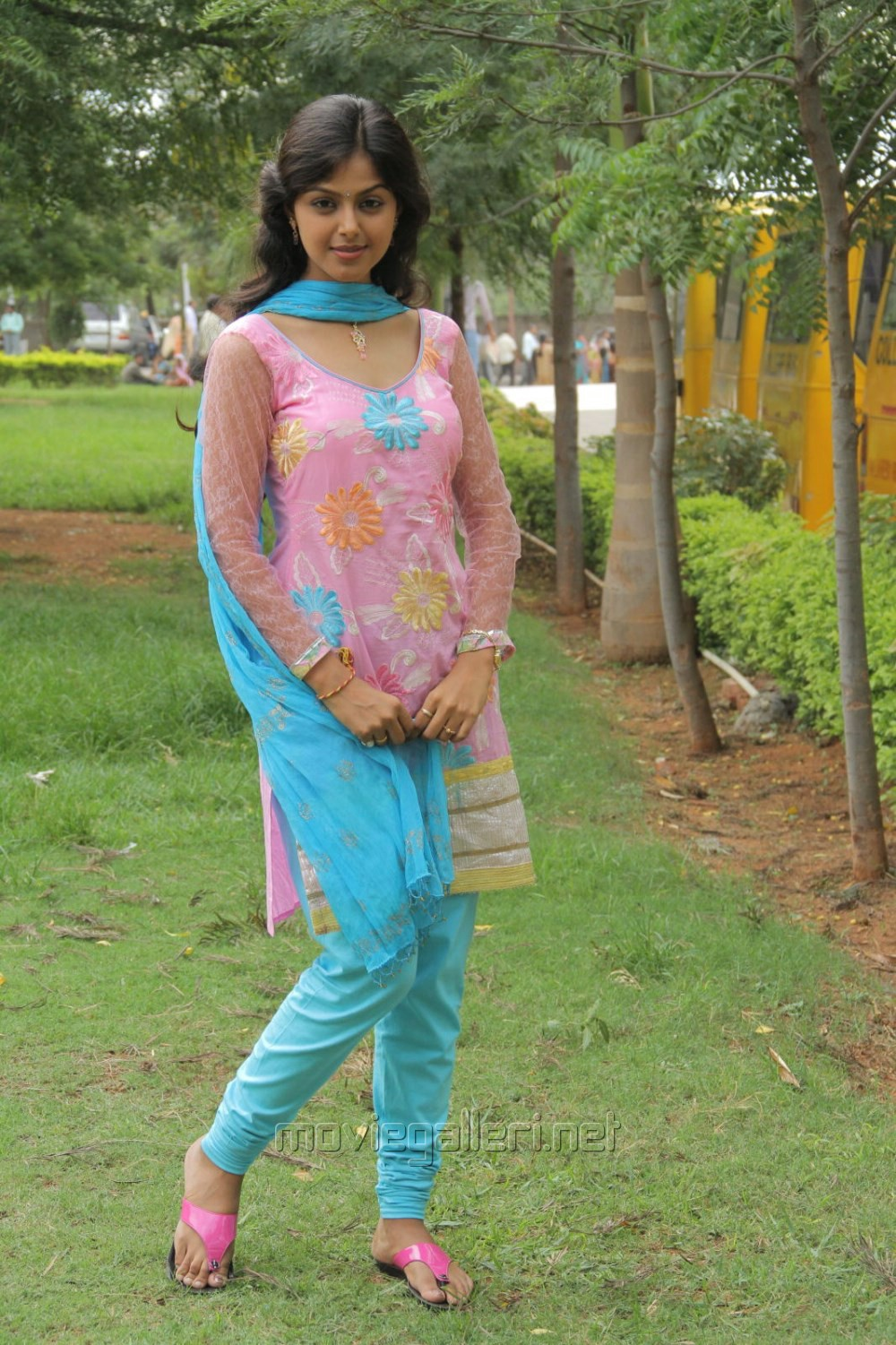 Picture 512546  Monal Gajjar Churidar Photos In Oka College Love Story  New Movie -1048