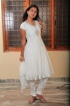 Monal Gajjar White Churidar Photos in Oka College Love Story