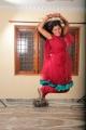 Monal Gajjar Red Churidar Photos in Oka College Love Story