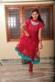 Actress Monal Gajjar Red Churidar Photos in Oka College Love Story