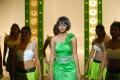 Actress Monal Gajjar Hot Pictures in Green Dress