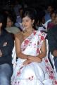 Actress Monal Gajjar Cute in White Saree Stills