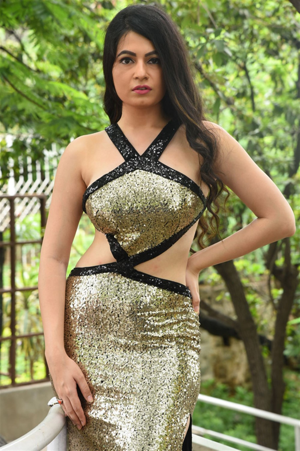 Actress Monal Jagtani Photos @ Samudrudu Movie Launch
