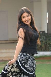 Actress Monica Hot Pics in Black Top & Long Skirt