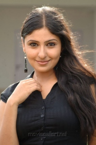 Tamil Actress Monica Pics in Black Top & Long Skirt