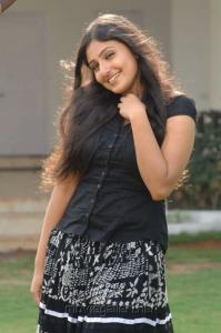 Tamil Actress Monica Hot Pics in Black Top & Long Skirt