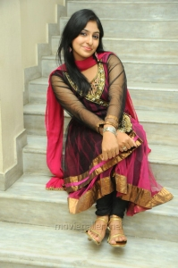Actress Monica New Stills in Dark Pink Salwar Kameez