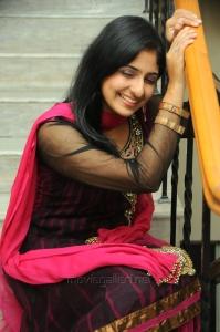 Tamil Actress Monica in Dark Pink Salwar Kameez Stills