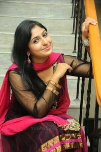 Actress Rekha Maruthiraj (Monica) Stills in Dark Pink Salwar Kameez