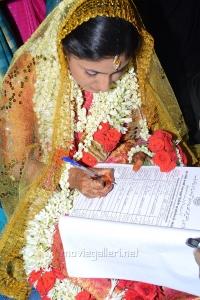 Tamil Actress Monica Wedding Photos