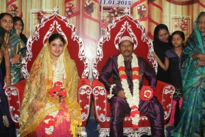 Tamil Actress Monica (Rahima) Marriage Photos