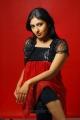 Monika Hot Photo Shoot in Red Dress