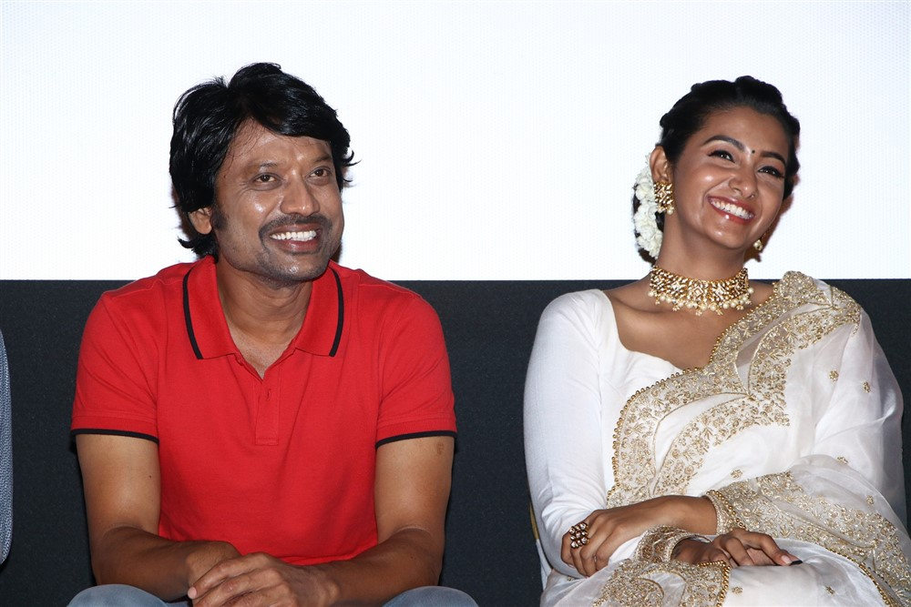 SJ Suryah, Priya Bhavani Shankar @ Monster Movie Audio Launch Stills