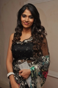 Actress Bhanu at Moondru Per Moondru Kaadhal Audio Launch Stills
