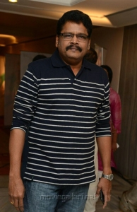 KS Ravikumar at Moondru Per Moondru Kaadhal Audio Launch Stills
