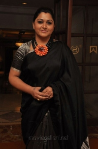 Actress Kushboo at Moondru Per Moondru Kaadhal Audio Launch Stills